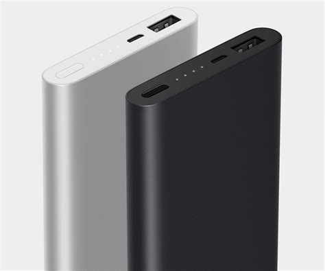 Powerbank Xiaomi 10000mah Slim xiaomi mi 2 original new 10000mah slim power bank silver