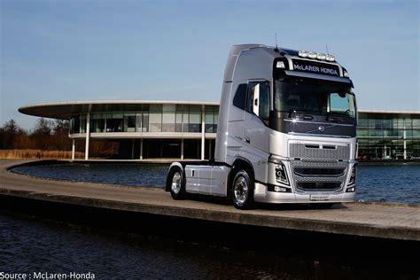 mclaren truck volvo trucks devient fournisseur de mclaren
