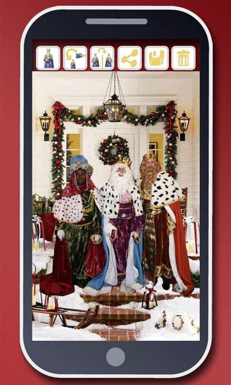 fotos reyes magos en tu casa tu foto con los reyes magos selfies de navidad