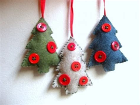 56 original felt ornaments for your christmas tree digsdigs