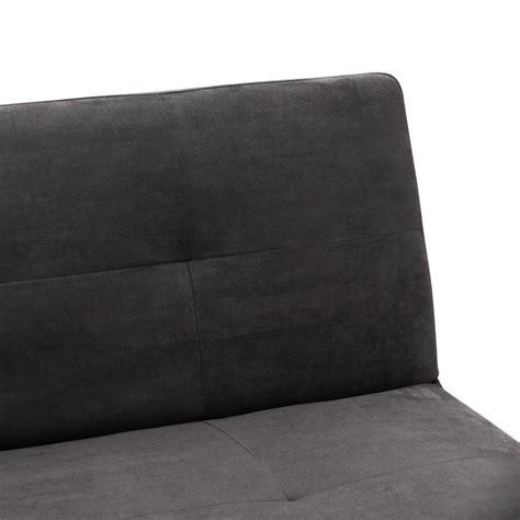 microfibra per divani divano letto 2 posti microfibra onice per casa e sale d