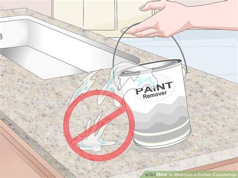 How To Clean Corian Countertops by 3 Ways To Maintain A Corian Countertop Wikihow
