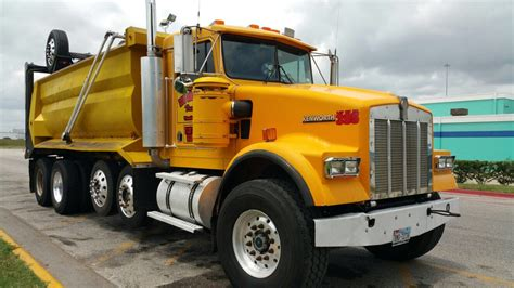 kenworth super truck w900 super 16 dump truck dogface heavy equipment sales