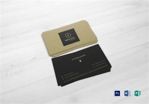 accountant business cards templates accountant business card design template in psd word