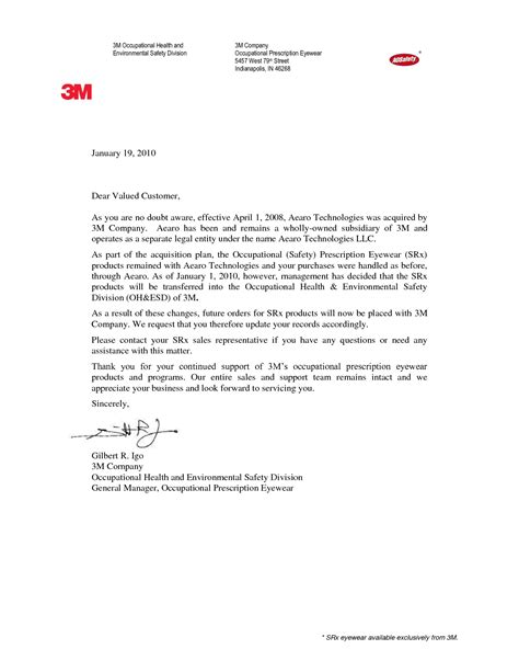 business letter notification best photos of company name change letter template
