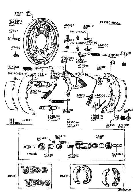toyota ke master cylinder diagram get free image about