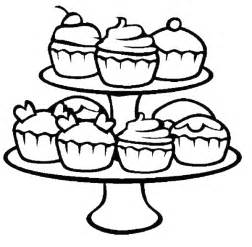 cupcakes coloring pages free coloring pages of dessert