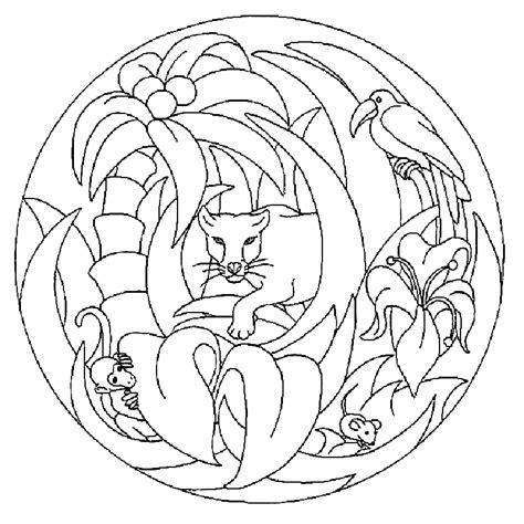animal mandala coloring pages coloring pages for adults
