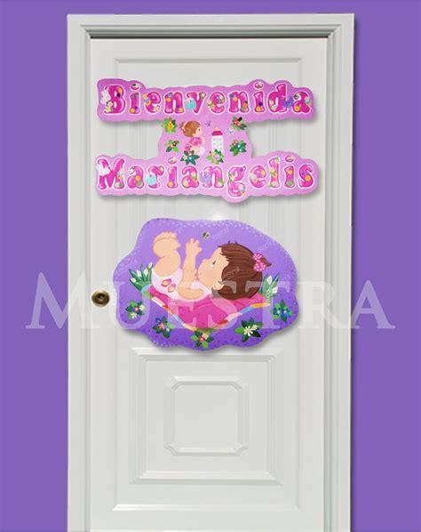 decorar habitacion bienvenida cartel d bienvenida recien nacidos en foami puerta d