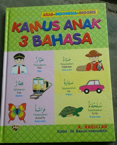 Kamus Alfikr 3 Bahasa buku kamus anak 3 bahasa arab indonesia inggris toko muslim title