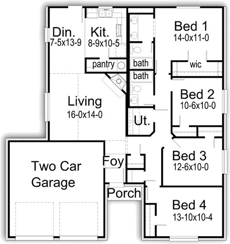 first texas homes floor plans r1526l texas house plans over 700 proven home designs