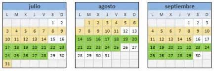 Calendario De Verano Cursos De Verano Maizpide
