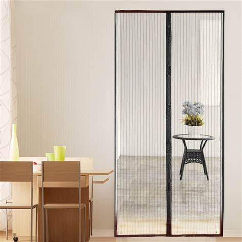 magnetic screen curtain new magnetic fastening hands free insect screen magic