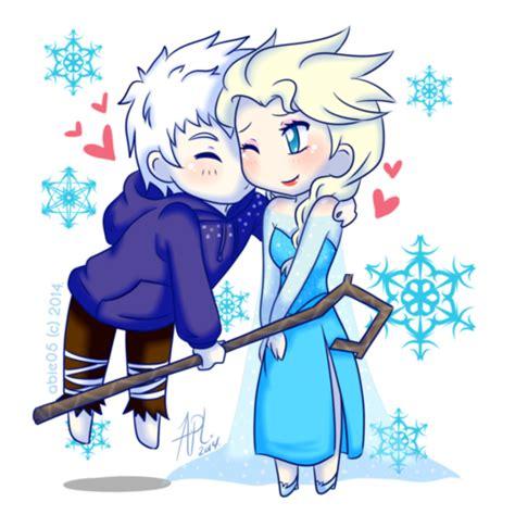 elsa jack frost gambar  ciuman hd wallpaper