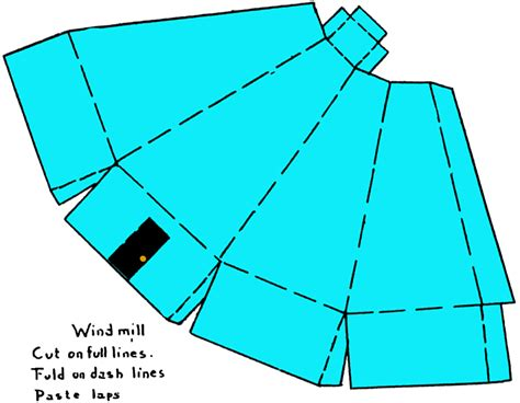 How To Make A Windmill Out Of Paper - make paper windmills modelling craft