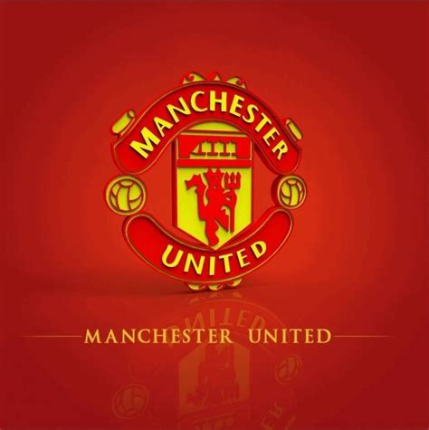 3d Manchester United manchester united logo free 3d model cgtrader
