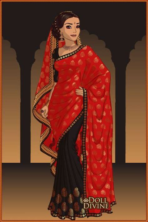 design saree maker new character by ashu55 created using the sari doll
