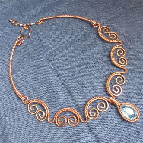 best 25 wire necklace ideas on wire jewelry