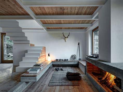 Mountainside House Plans by Casa Di Montagna Interni Design