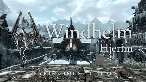 skyrim buying houses skyrim buy a house in windhelm youtube