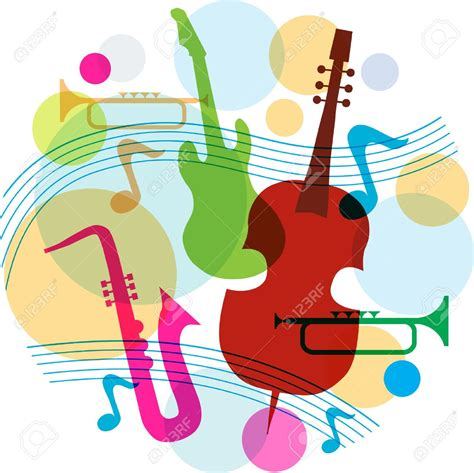 clipart musica clipart instrumental pencil and in color