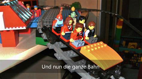lego rollercoaster   bedroom lego achterbahn im schlafzimmer youtube