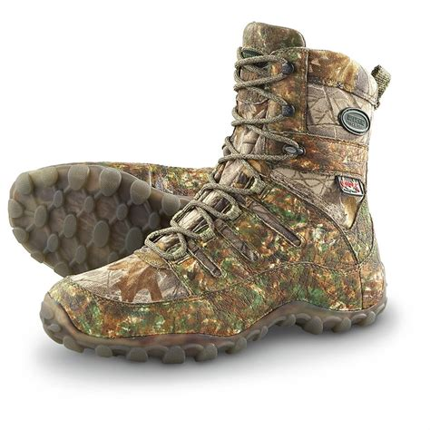 scent lok boots s wolverine 174 scent lok 174 waterproof boots realtree