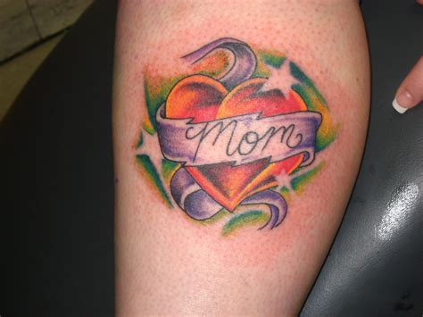 mom heart tattoo tattoos designs ideas and meaning tattoos for you