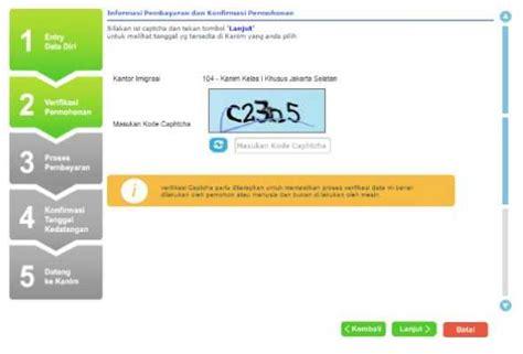 pembuatan paspor online terbaru langkah langkah pembuatan paspor online terbaru biaya