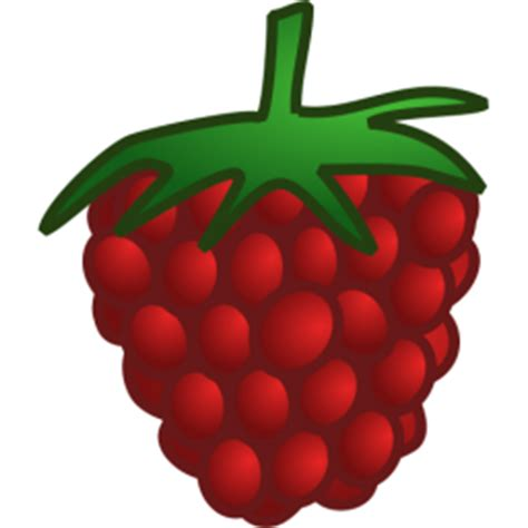 red raspberry icon png clipart image iconbugcom