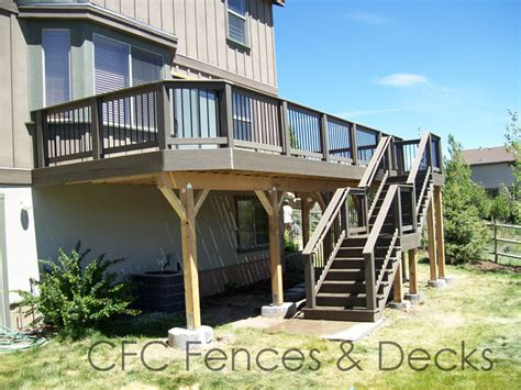 second floor deck plans second floor deck trex decking story house plans 30323