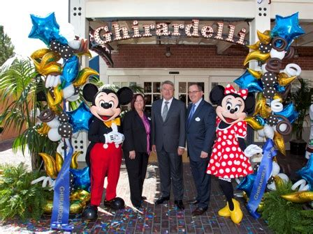 Disney Mba Salary by Ghiradelli Soda And Chocolate Shop Officially