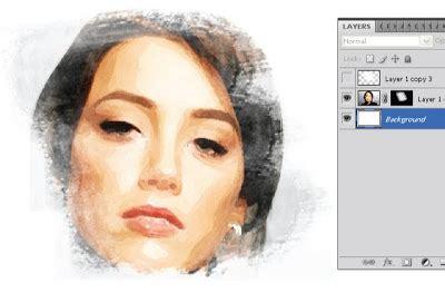 cara membuat lukisan abstrak dengan cat air cara membuat foto bergaya lukisan cat air dengan photoshop