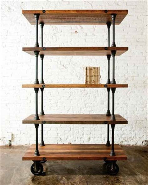 industrial style bookshelves homethangs has introduced a guide to industrial style
