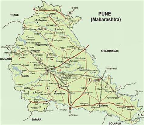 city map of pune geography of pune population of pune rivers in pune