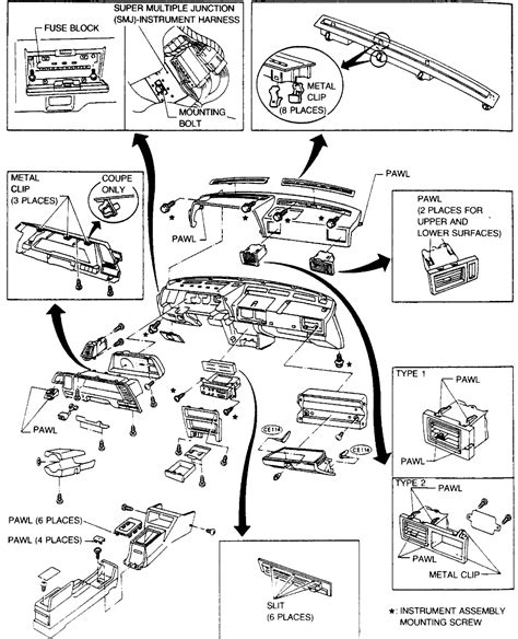nissan exa wiring diagram nissan electrical wiring diagram