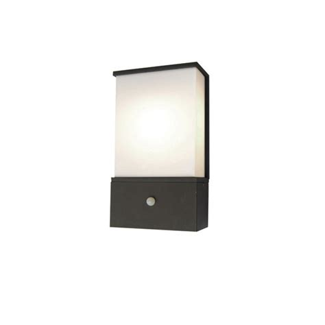Outdoor Pir Wall Lights Elstead Lighting Azure Low Energy 6 Grey Outdoor Wall Light Pir Elstead Lighting From