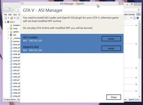 gta v mod corrupt game data openiv rage research project 187 grand theft auto v
