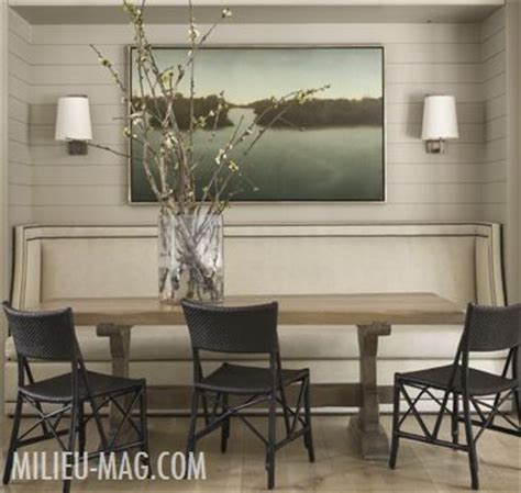 25 best ideas about dining room banquette on