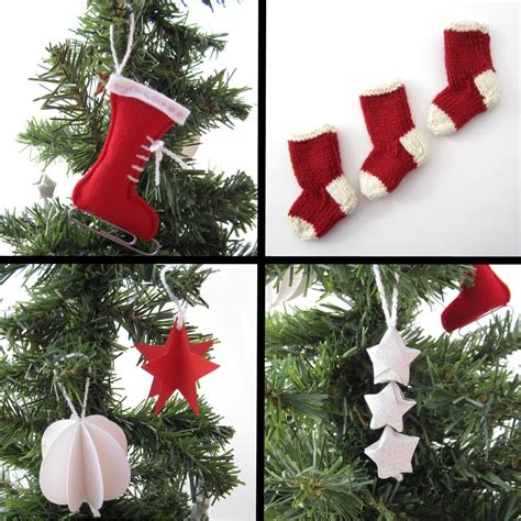 homemade christmas tree decorations handmade decorations