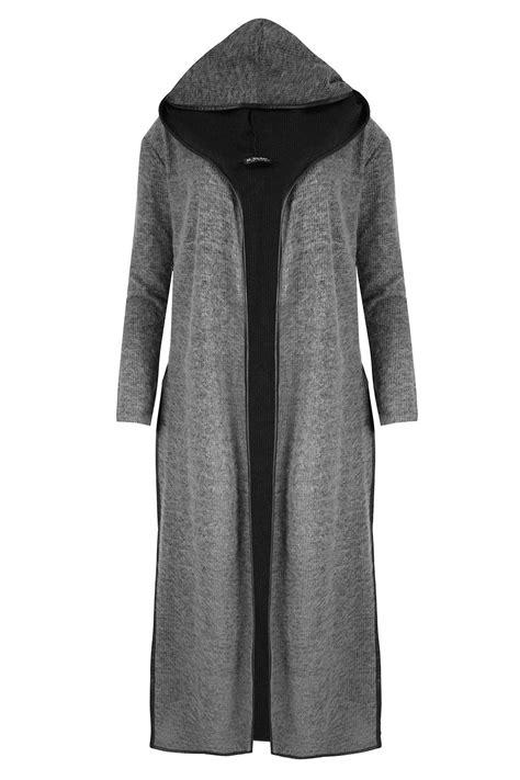 Atasan Cape Coat Clothing Sleeve Cape Coat 1 womens sleeve side split hooded open cardigan