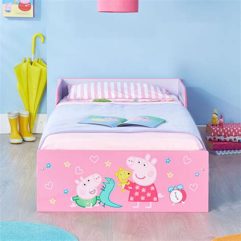 toddler bed with mattress included peppa pig toddler bed foam mattress included pink girls