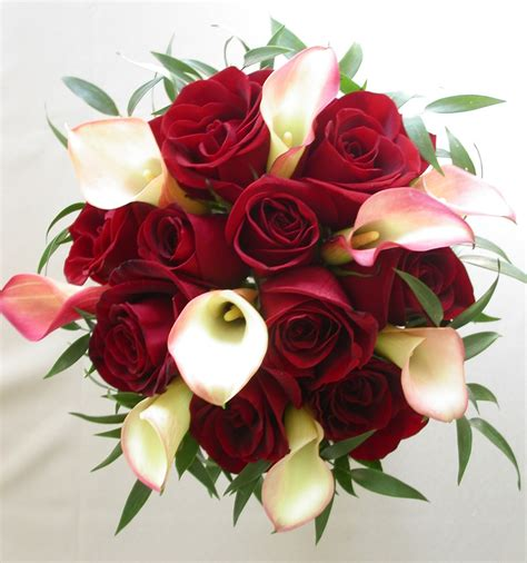 Wedding Flowers Roses by Bridal Bouquet