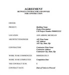 contracting contract template contract agreement 7 free pdf doc