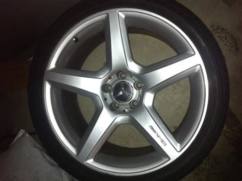 Mercedes Oem Rims by Mercedes Cls55 Amg Oem Rims With Tires 1200 Mbworld