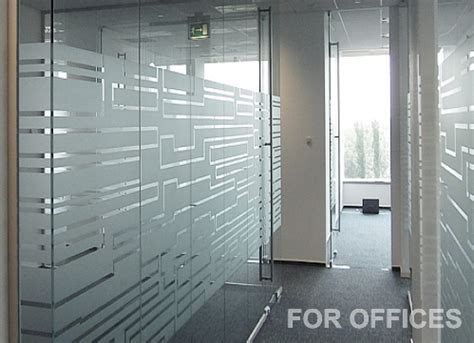 frosting for glass doors window frosting calgary glass etching for office windows