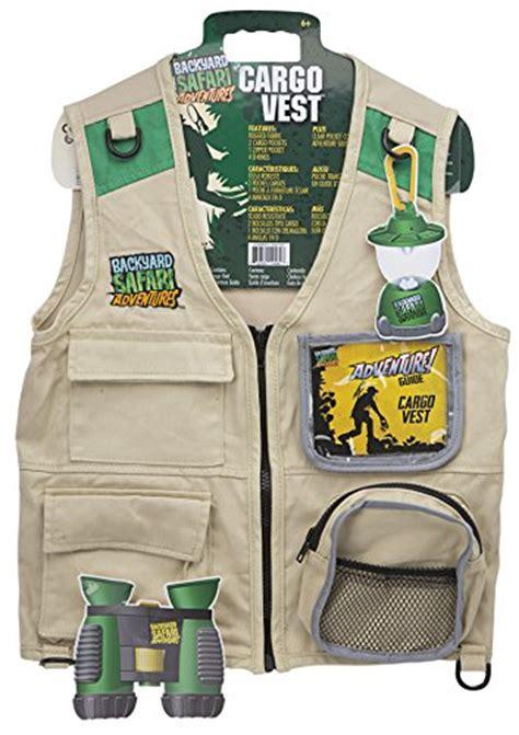 backyard safari cargo vest paleontologist costumes for kids