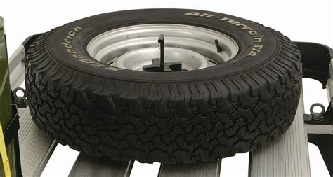 Roof Rack Wheel Holder by Spare Wheel Holder Rswh Rhino Rack