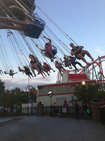 six flags new england swing swings picture of six flags new england agawam