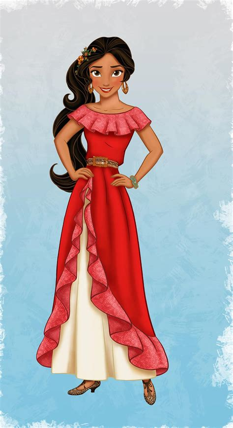 cartoon indian princess dress meet elena of avalor disney s new hispanic princess
